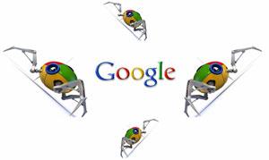 Google საძიებო სისტემის რობოტები